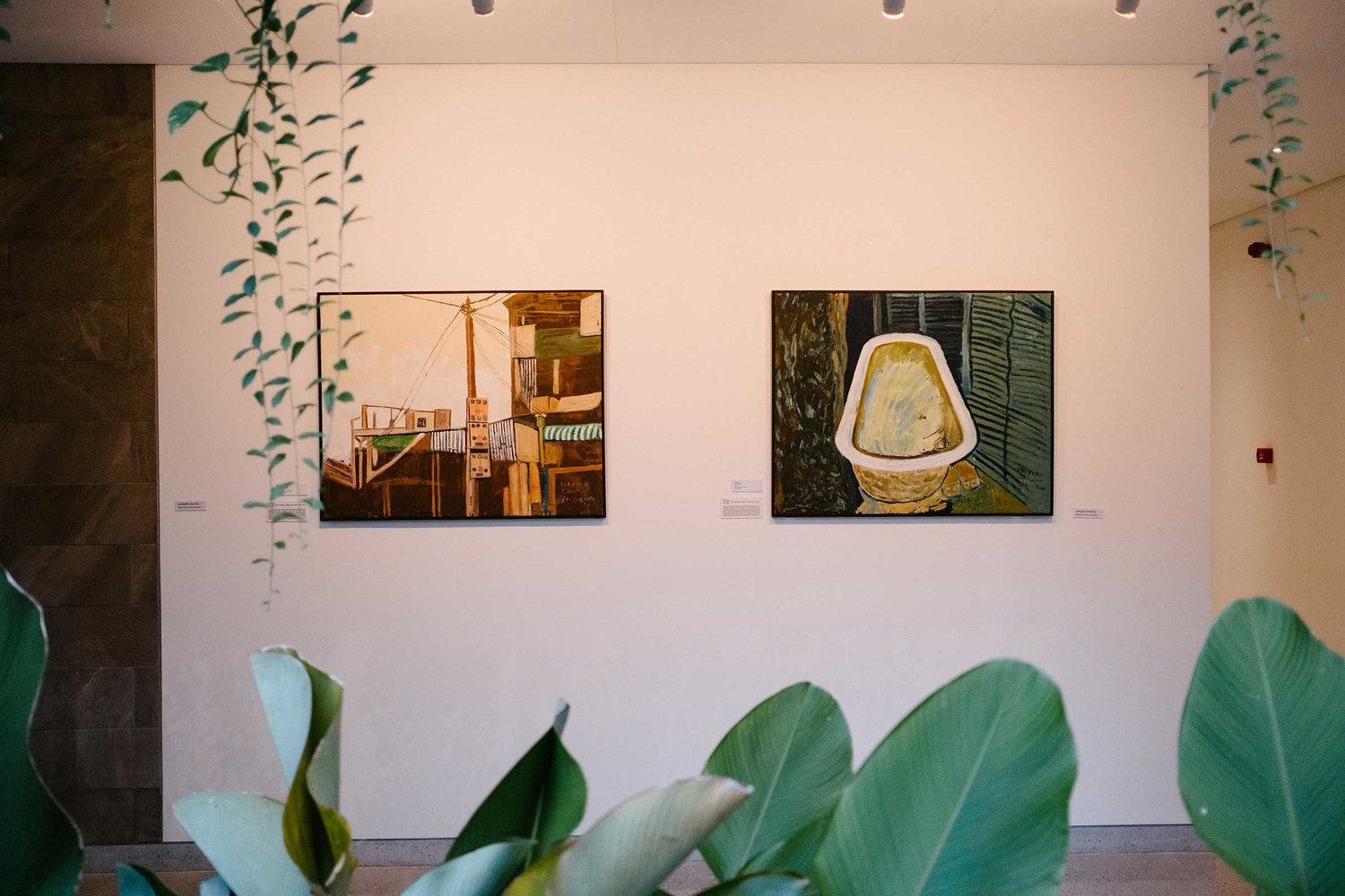 Installation view of Ti Prasap at Treeline Gallery