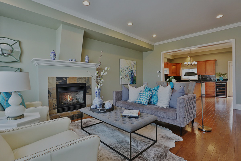 staging   vacant - Oakville Townhouse