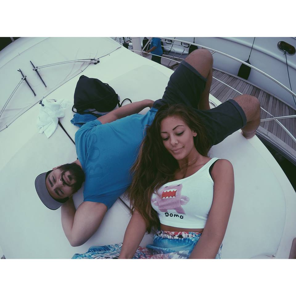 carla and her husband in dubai on a yacht carla maria bruno dubai yacht party marina jlt jbr boat travel influencer travel blogger travel vlogger lifestyle influencer lifestyle blogger lifestyle vlogger fashion travel tips tourism.jpg