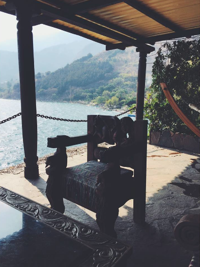 antique chair laguna lodge eco resort guatemala lake atitlan travel tips travel blogger vlogger influencer carla maria bruno.png