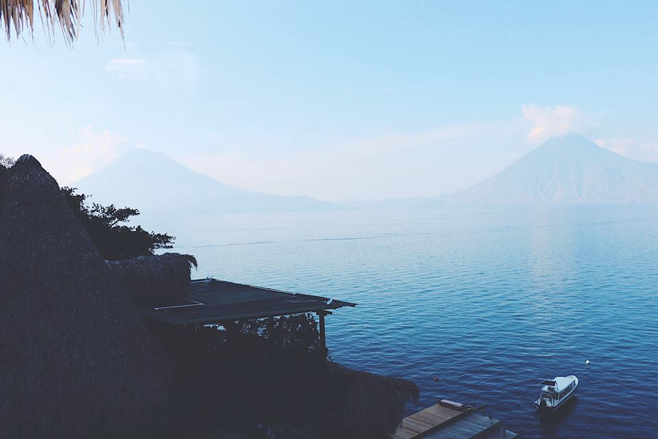 volcanos from laguna lodge eco resort guatemala lake atitlan travel tips travel blogger vlogger influencer carla maria bruno.jpg