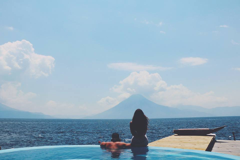 looking at the views laguna lodge eco resort guatemala lake atitlan travel tips travel blogger vlogger influencer carla maria bruno.jpg