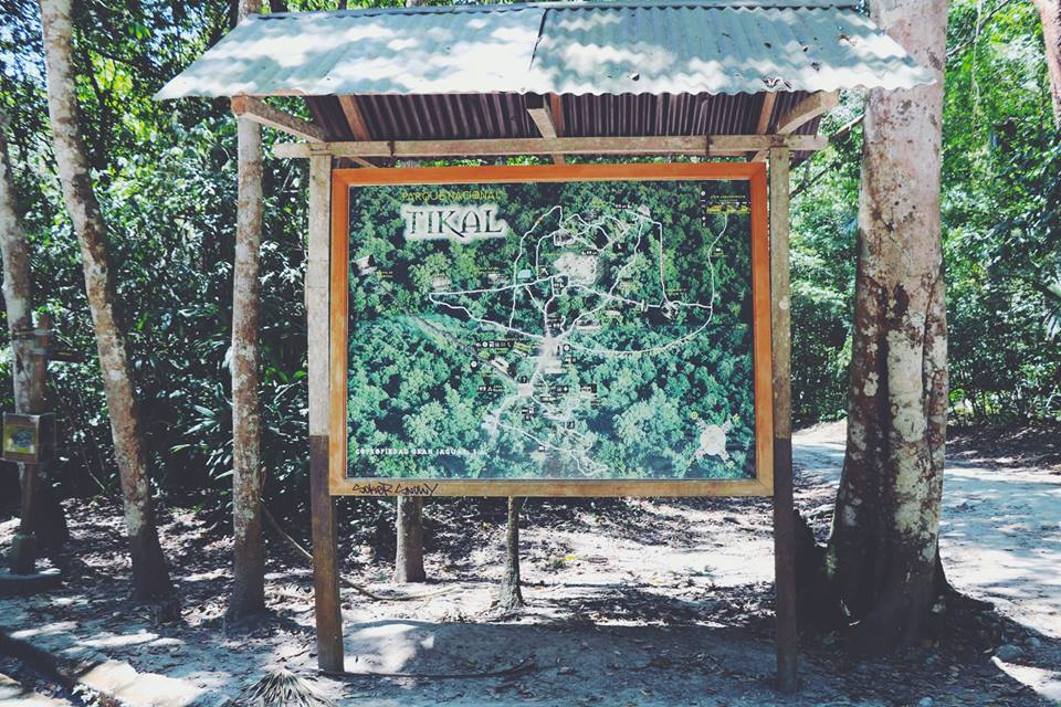 tikal map tikal flores guatemala mayan tours mayan ruins backpacking carla maria bruno travel blogger vlogger influencer.jpg