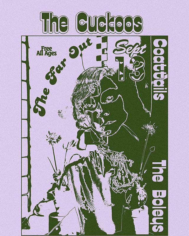 Friday the 13th @thefaroutaustin with @smokeaboleys and @thecuckoos  #free