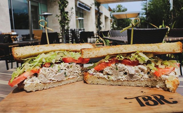 Tuna sandwich on the menu 🐟🥪 Stop into our @thebarrelroomcv to try our array of delicious sandwiches and salads!