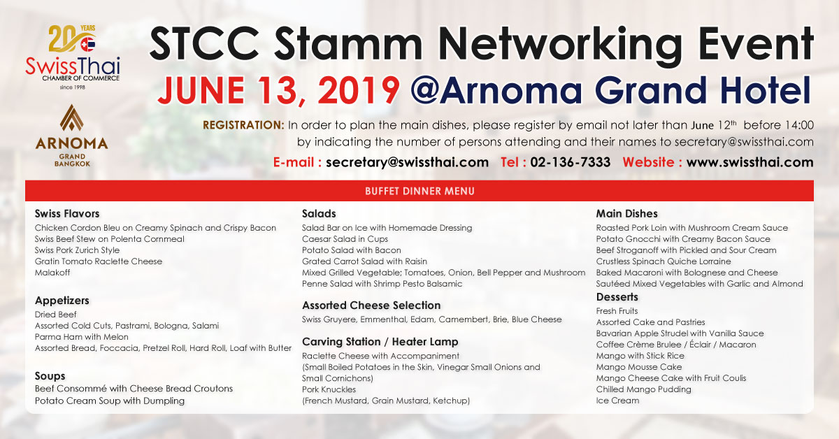 Events — SwissThai Chamber Of Commerce (STCC)