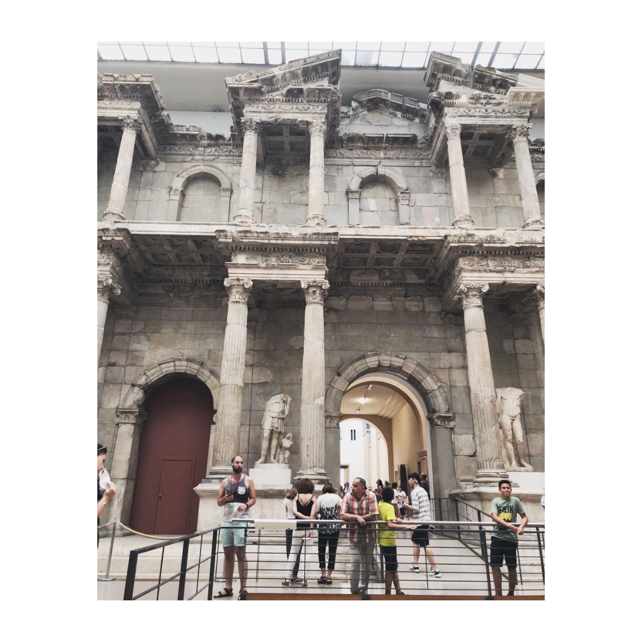 Part of the Pergamon Museum