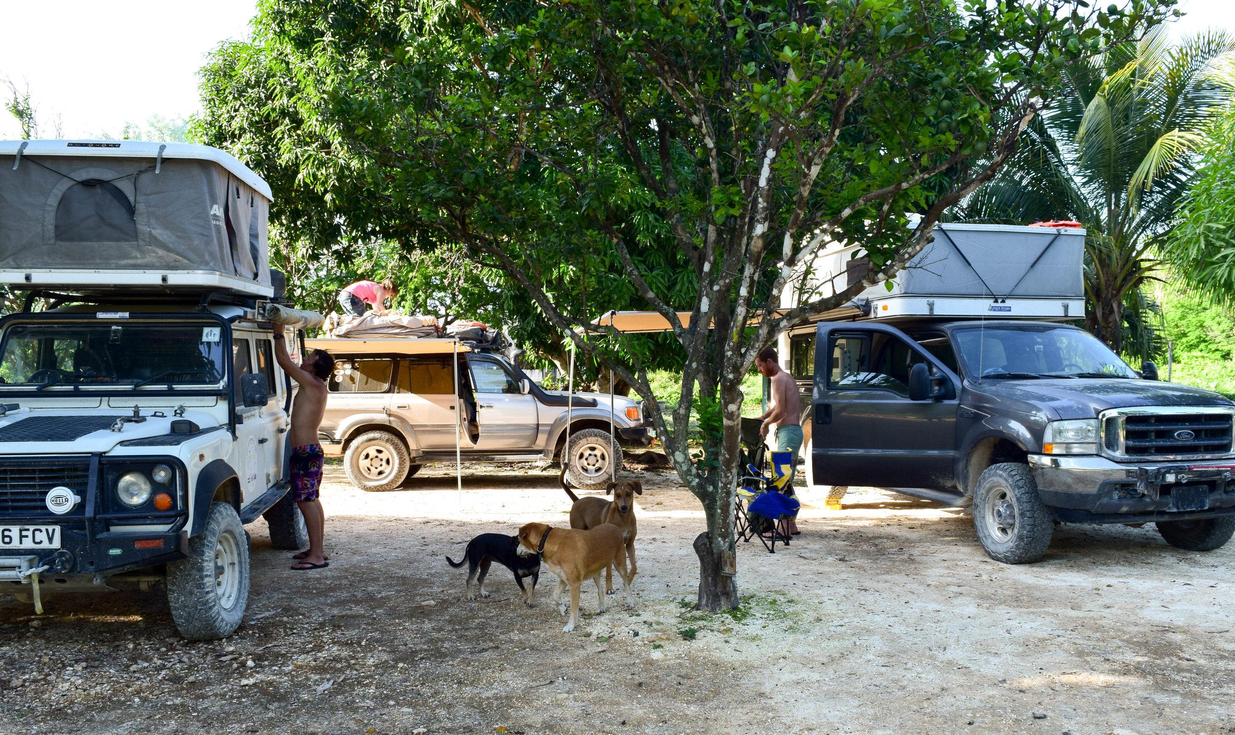 setting up camp at backpackers paradise.jpg