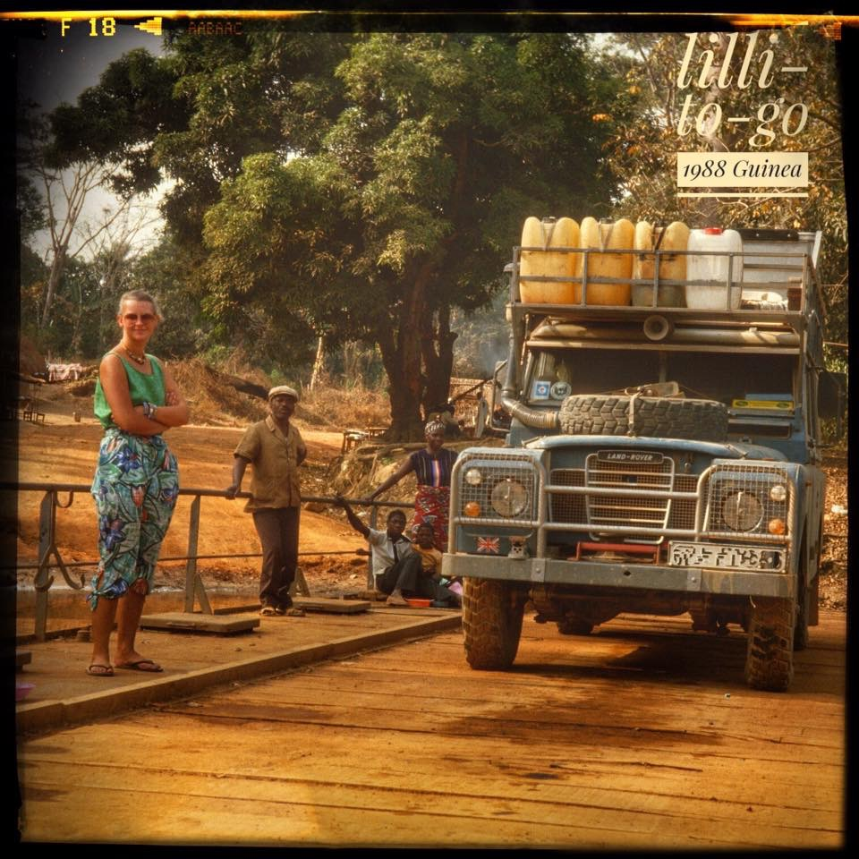 On my first 3 years overlanding trip in Africa 1987-1990.