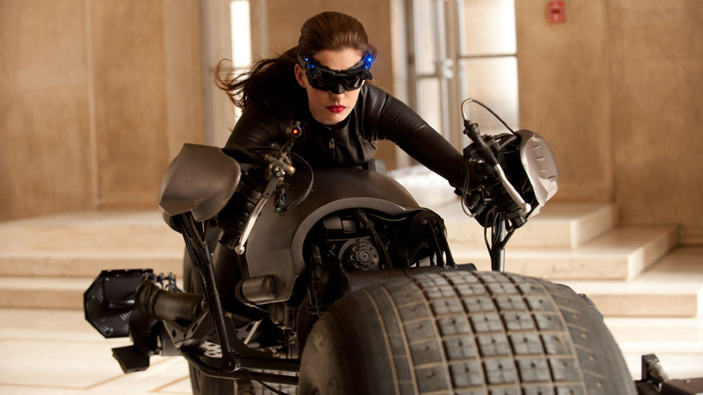 "ANNIE   Remember  Anne Hathaway  as "" Catwoman "" and the accolades she got for looking oh so good in that cat suit? Well guess who trained her for that role?  Nick's skills as a strength and conditioning coach for some of the best athletes and and actors in the world was often called upon during his days as a stuntman. Something he is still very proud of, he fondly remembers his time training the likes of  Anne 'Annie' Hathaway ,  Mickey Rourke  and  Ralph Fiennes ."