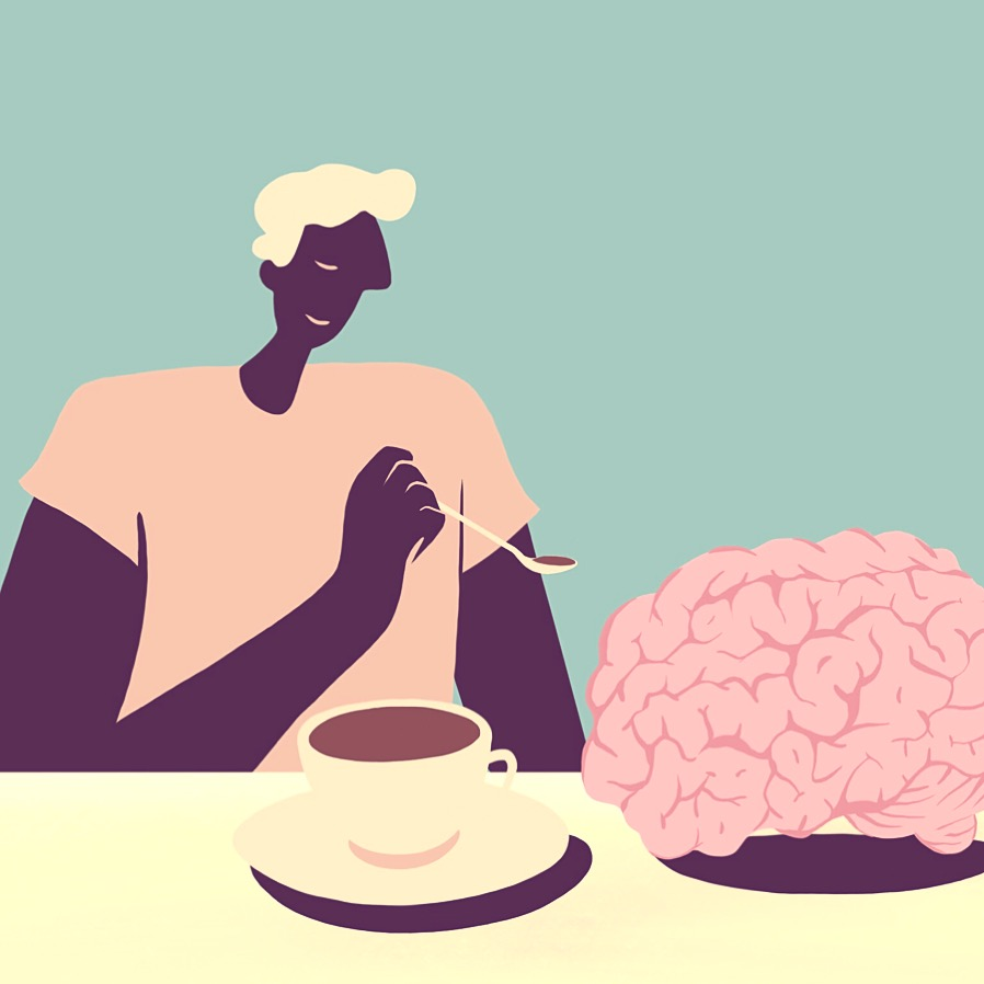 Be Kind to Your Mind pt. 3 — yes, feed it coffee.