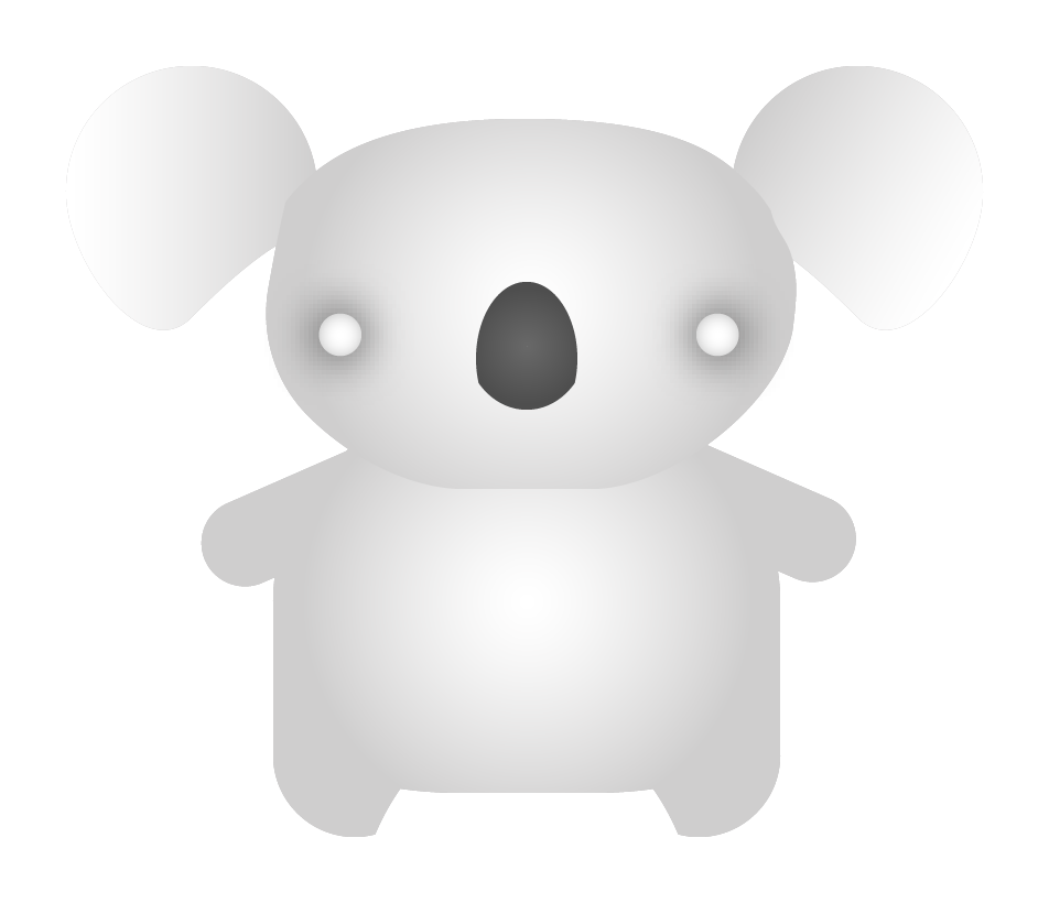The ghost version of the koala.