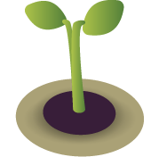 Seedling, to be animated into a tree.