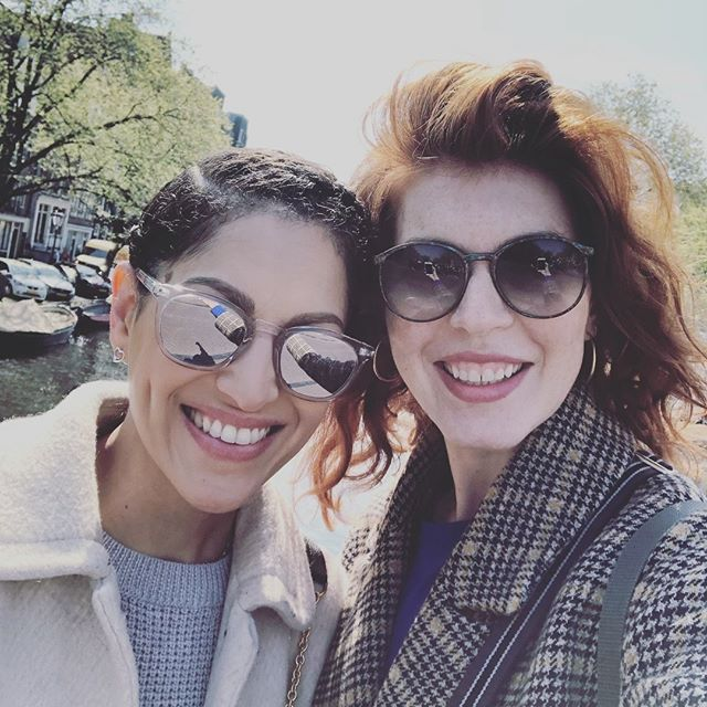Throwback to last week and a tradition that fills me with gratitude. Because getting to meet your bestie from Montreal once a year to laugh, cry and shoot the shit is something to treasure. It's not a monthly brunch or a weekly hug, but I'll take it and hold it (and her!) close! 👩🏻‍🦰👩🏽👭❤️ . . . #besties #montrealaises #bastardsontour #viejas #epic #mental #dope