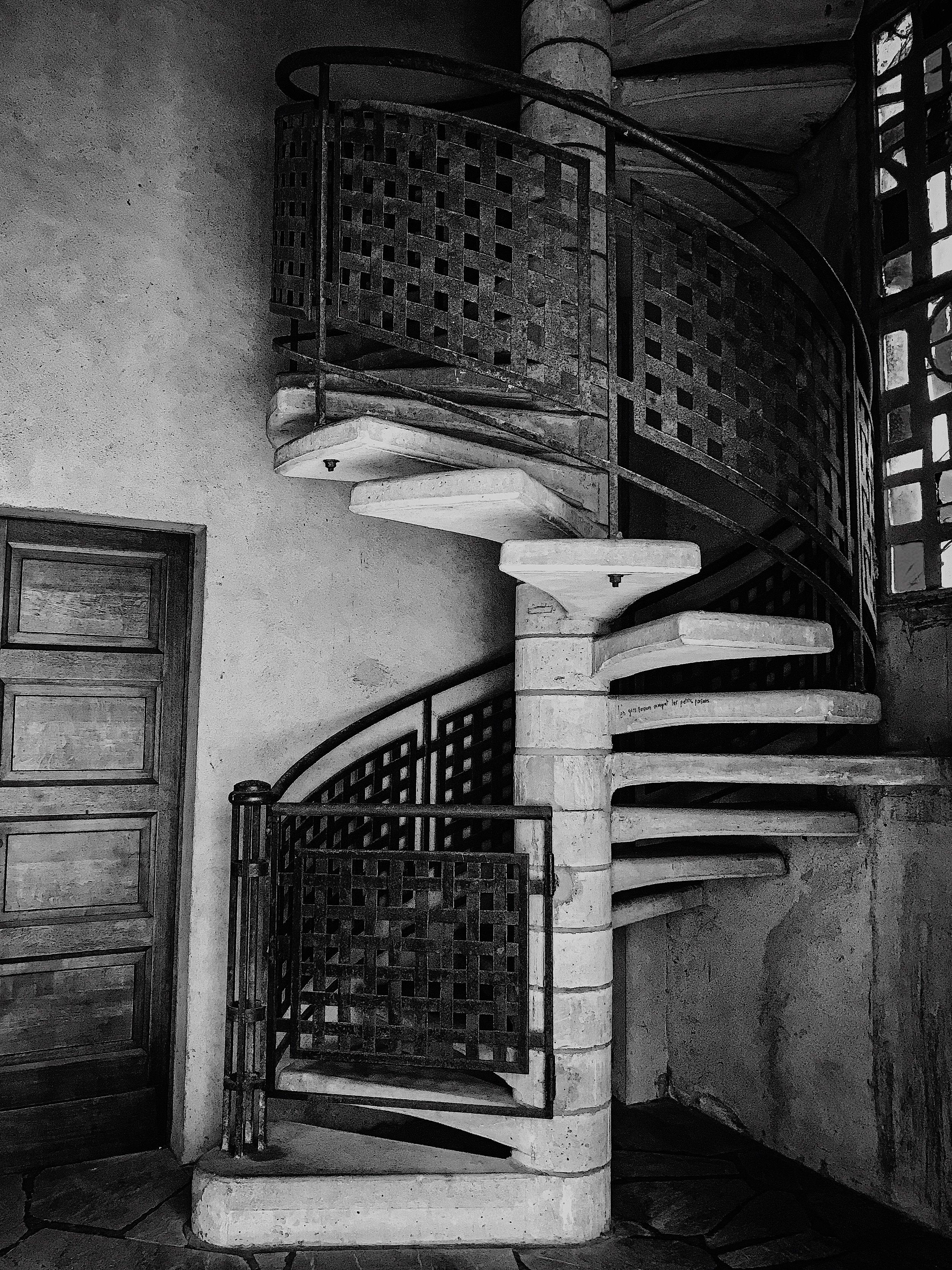 Mackintosh-like spiral, Église Notre-Dame-de-Victoire de Lorient