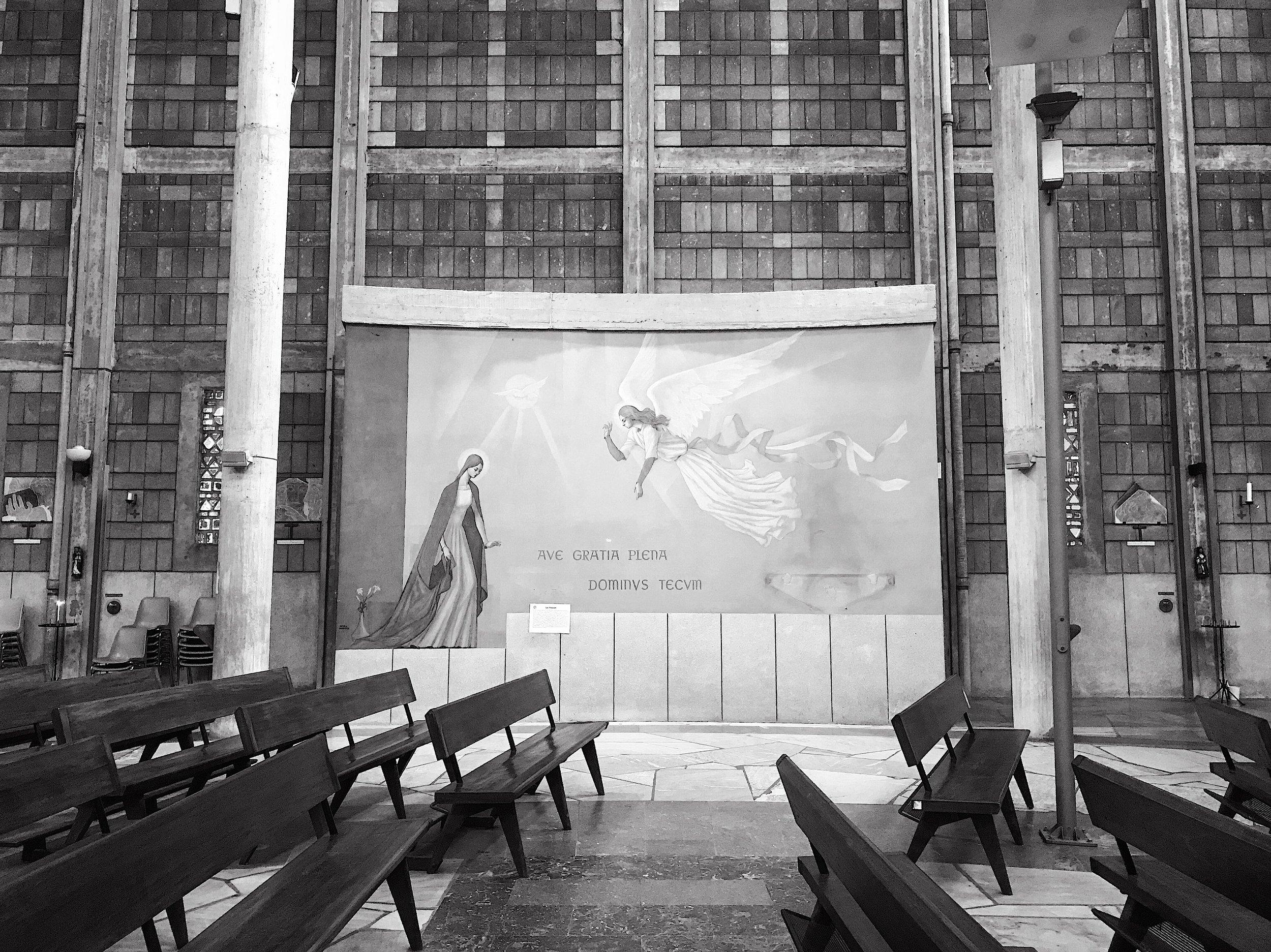 Monday morning, Église Notre-Dame-de-Victoire de Lorient