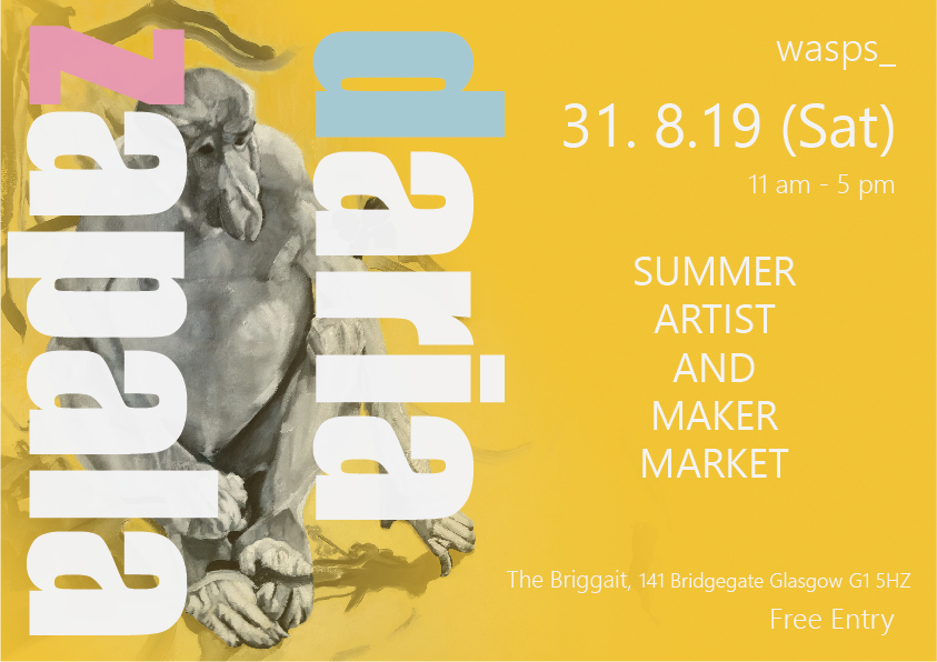 Summer Market - Visit my stand to enjoy beautiful selection of works by your local artist.Summer Market is an exciting event where you can meet artists directly, discover unique and affordable works of art, and mix with Glasgow's contemporary art community. Bring your friends and family. I am looking forward to seeing you.