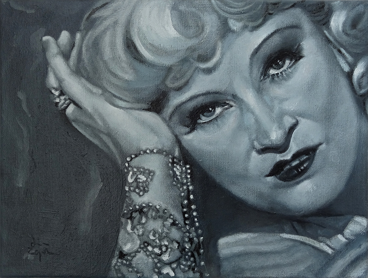 The Finalist - Thrilled to be selected as a finalist for The Herald and Grand Central Hotel Art Competition with my take on Mae West portrait.I am also delighted to hear that my painting will adorn walls of Grand Central Hotel Glasgow. Congratulations to all the winners and entrants!