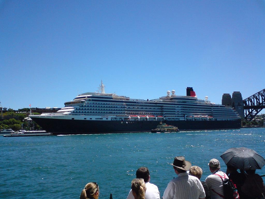 Queen Victoria at Circular Quay, Sydney