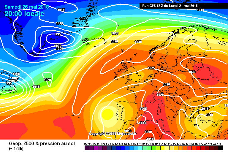 High pressure over Ireland and the UK this weekend with a east to northeast flow