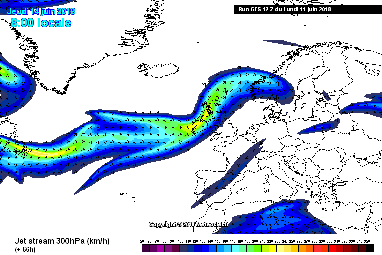 Jest stream moves back south over Ireland and the UK