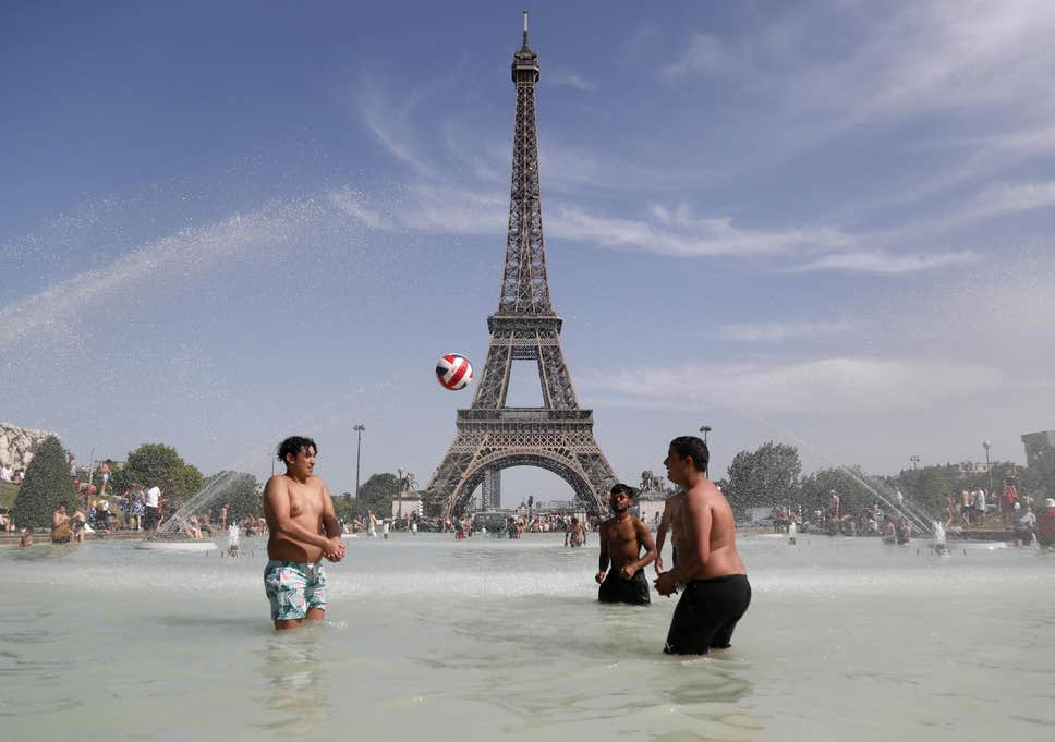 Paris experienced a heatwave in late June but temperatures are forecast to be even hotter this week  ( AFP/Getty Images )