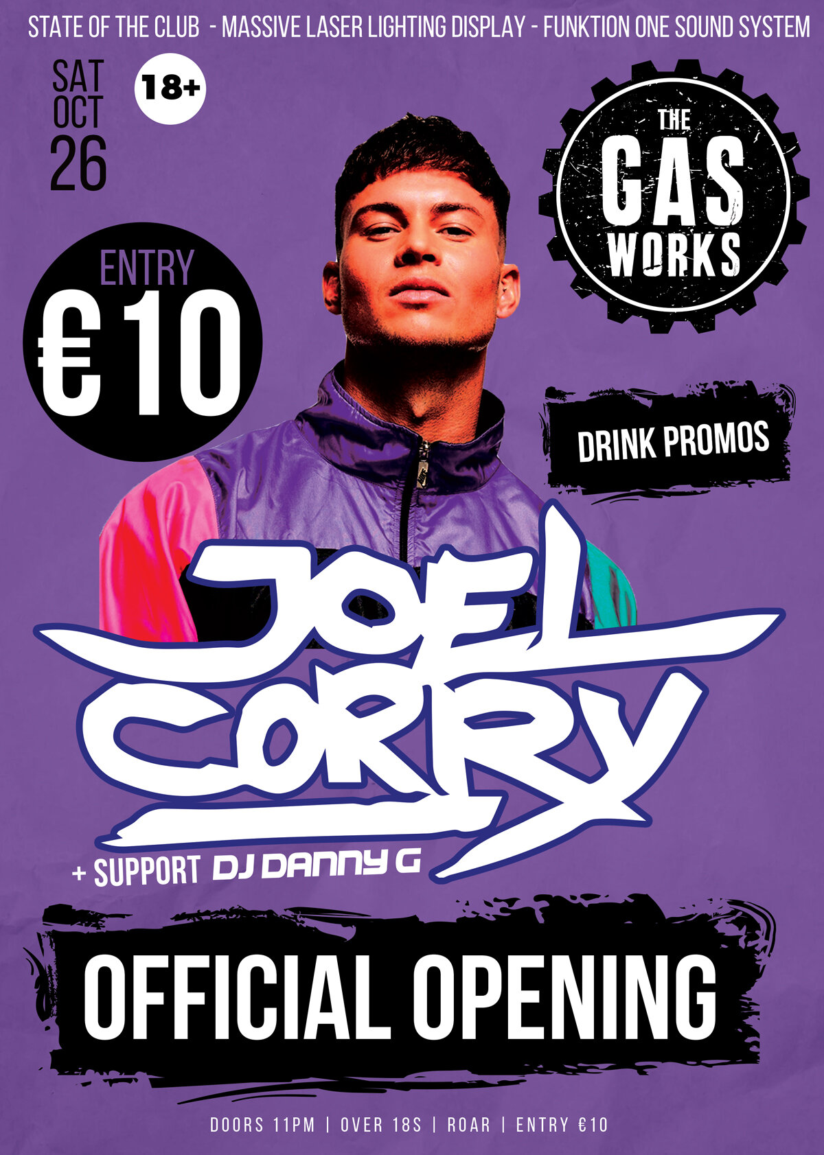 the-gasworks---dj-JOEL-CORRY-OFFICIAL-OPENING-PARTY-SAT-OCT-26--2019.jpg