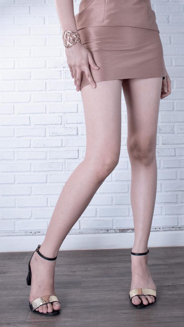 ขาสวยเรียว real legs