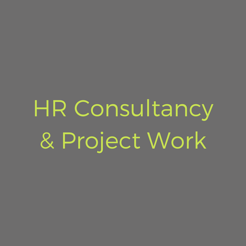 Working with you on discrete HR projects to meet your business objectives. - READ MORE >