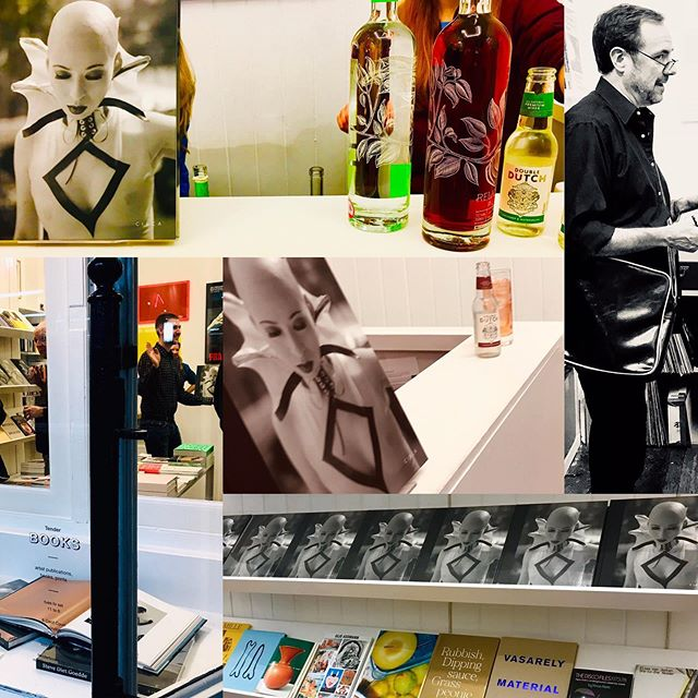 Yesterday's drizzle wasn't going to get in the way of celebrating the launch of #EXTEMPORE by photographer @stevedietgoedde, published by @circa_press. The stylish, visually appreciative guests who braved the elements to visit @tenderbooks enjoyed the just-what-was-needed refined, rosy-hued G&T's - huge thanks to @drinkreliquum and @doubledutchdrinks ! 🙌📸🍹✅