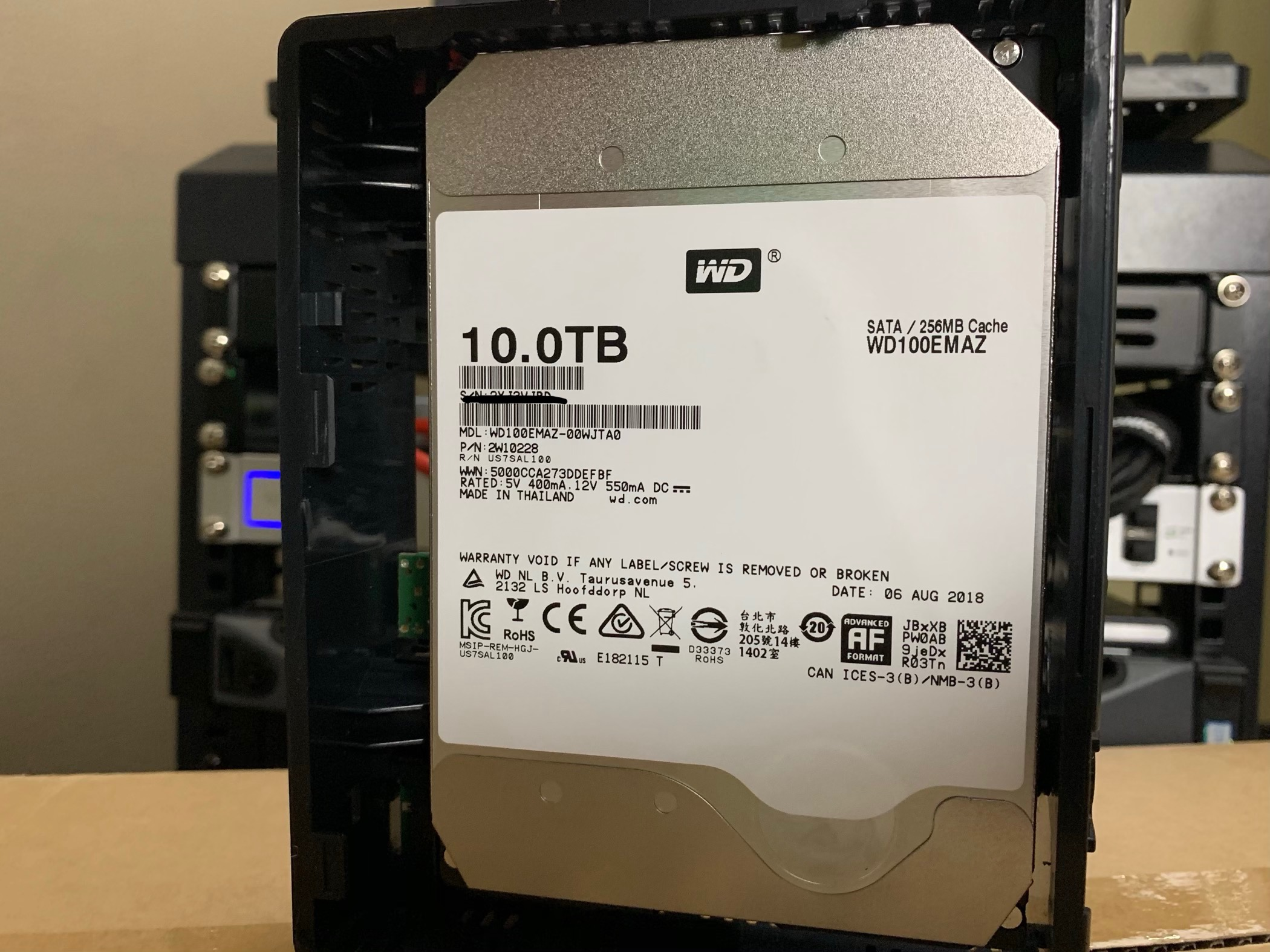 What Hard Drive is in a Western Digital 10TB EasyStore — SPX Labs