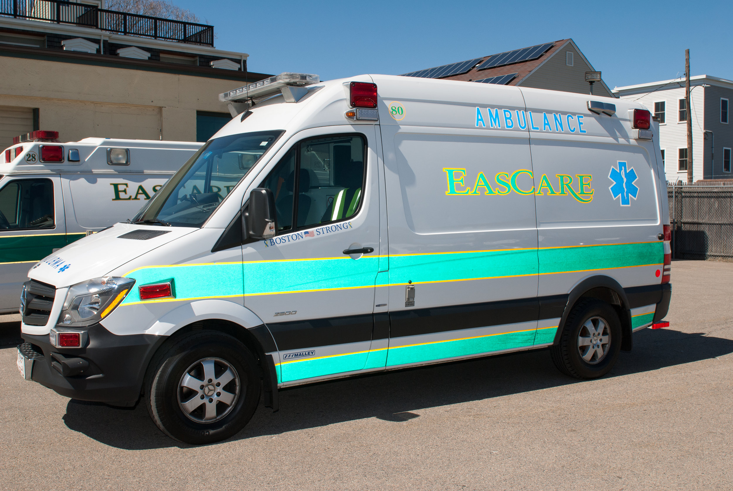 EasCare ambulance