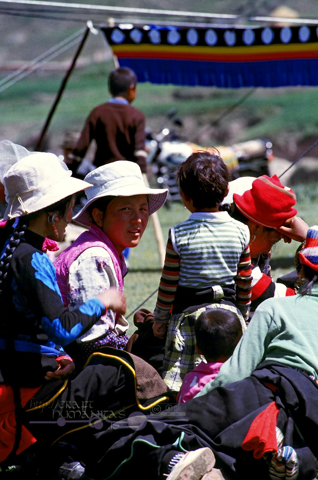 For 2-3 consecutive summers, I co- sponsored a grassroots medical campaign in the Tibetan areas of Gansu province.