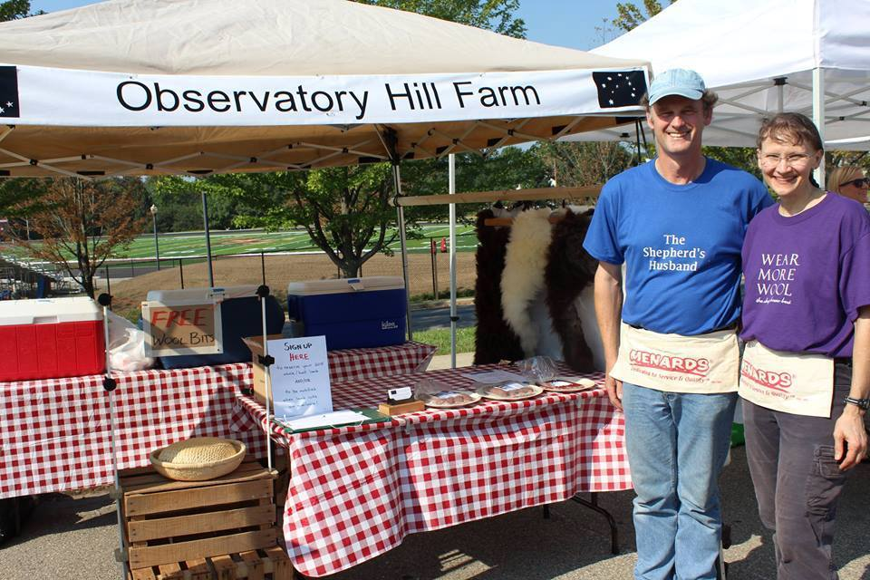 Observatory Hill Farm - Located near Paoli in Dane County, Observatory Hill is proud to offer you all that their flock of Corriedale sheep have to give: natural colored wool and yarn, beautiful plush lambskin pelts, and pasture-raised lamb and sausages. Try some