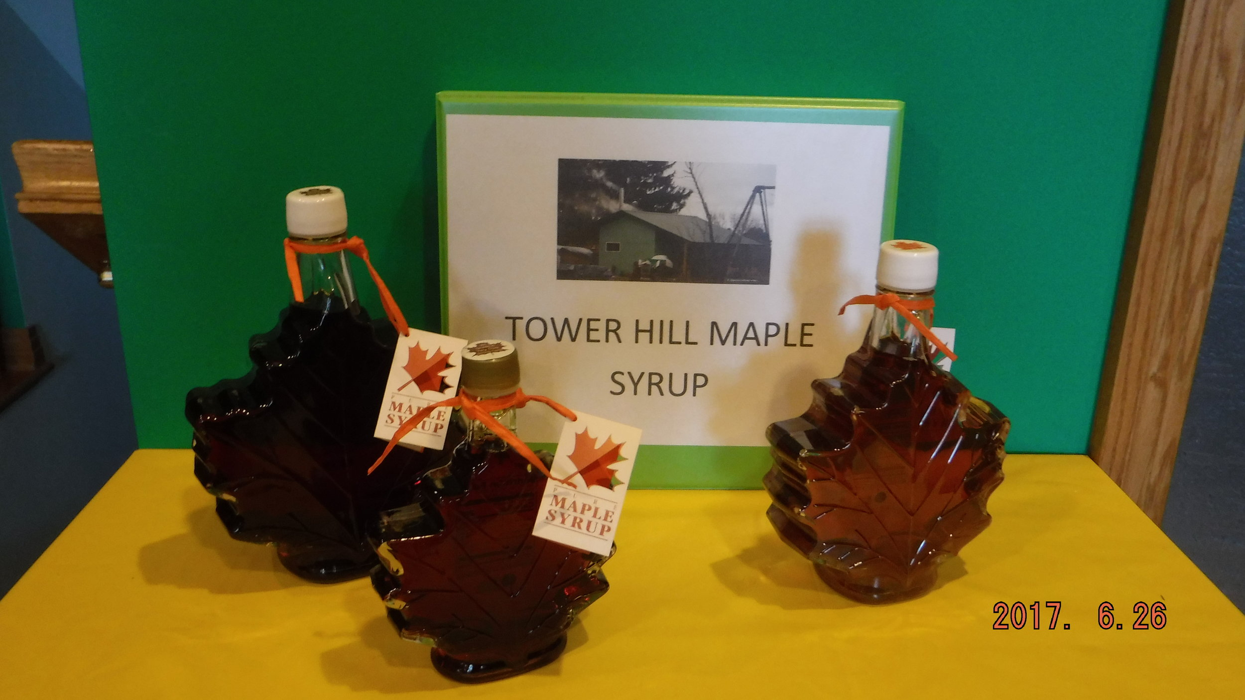 Tower Hill Maple Syrup - Tower Hill Maple Syrup is a family run small business continuing the family tradition of syrup making. The woods and syrup house are located in Rudolph, WI on the family farm.