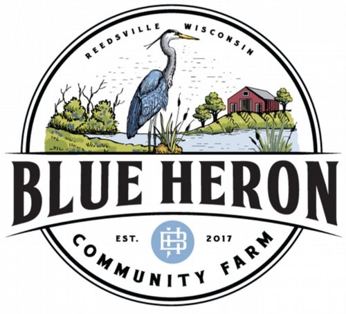 Blue Heron Community Farm - We are a first-generation family farm located in Reedsville, Wisconsin selling vegetables, fruit, and flowers. We are committed to growing a variety of high quality, nutrient dense produce for our community. We strive to promote environmental, economic and social sustainability through our farming practices. Community and connecting with our customers is very important to us.