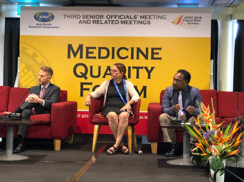 Panel at Medicine Quality Forum: APEC 2018