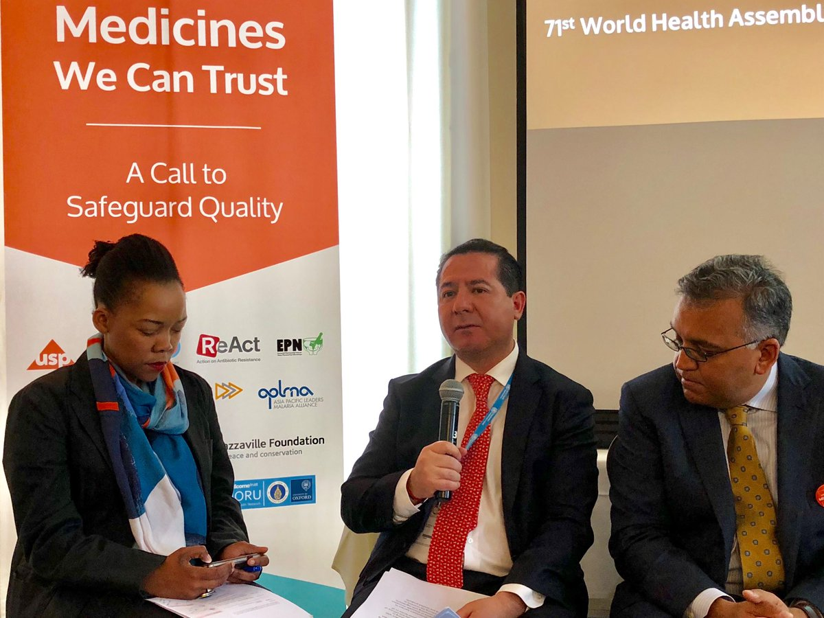 Panel at Medicines We Can Trust: A Call to Safeguard Quality