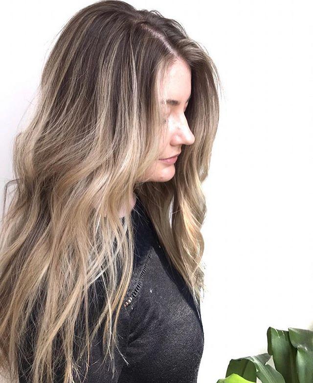 Soft blend balayage by @janeen.hair #backtoschoolhair #balayage #babylightsandbalayage #calgarysalon #calgaryhair #calgaryhairstylist