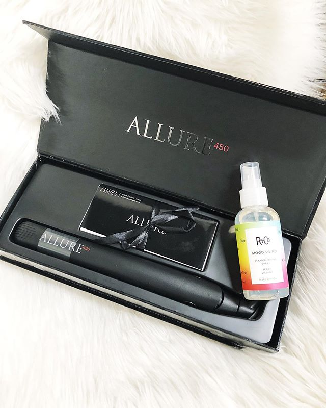 """It is feeling more like winter than fall here today in Calgary. However to celebrate fall we are giving one lucky winner the opportunity to win our new favourite product """"mood swing"""" & an """"Allure flat iron"""". ❄️💖 To win - like and tag your friends in this post. They must be following us. No limit on tags. Each tag counts as one entry. The contest will close 6pm tomorrow. Good luck. 💖"""