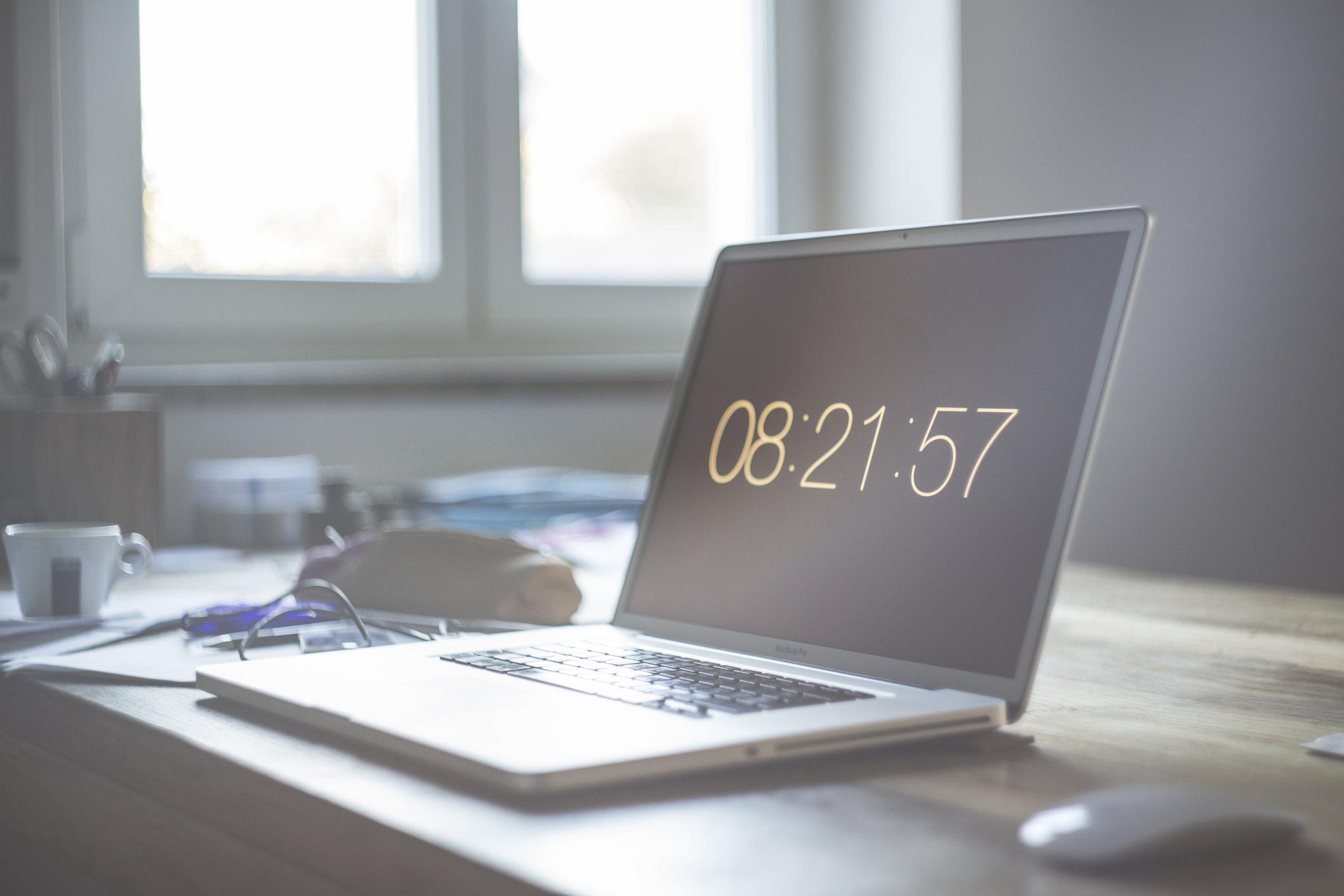 modern styled workstation laptop