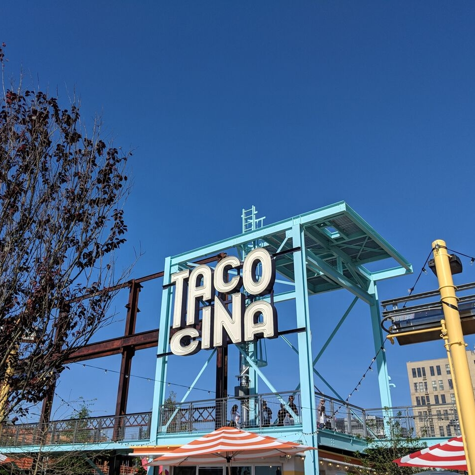 - Sight:  The new Domino Park. For a light bite: stop by Danny Meyer's new outdoor taqueria Tacocina.Sip:  Broken Shaker on the rooftop at Freehand Hotel - no reservations, but it will be worth the wait.Story:  Thanks For The Feedback