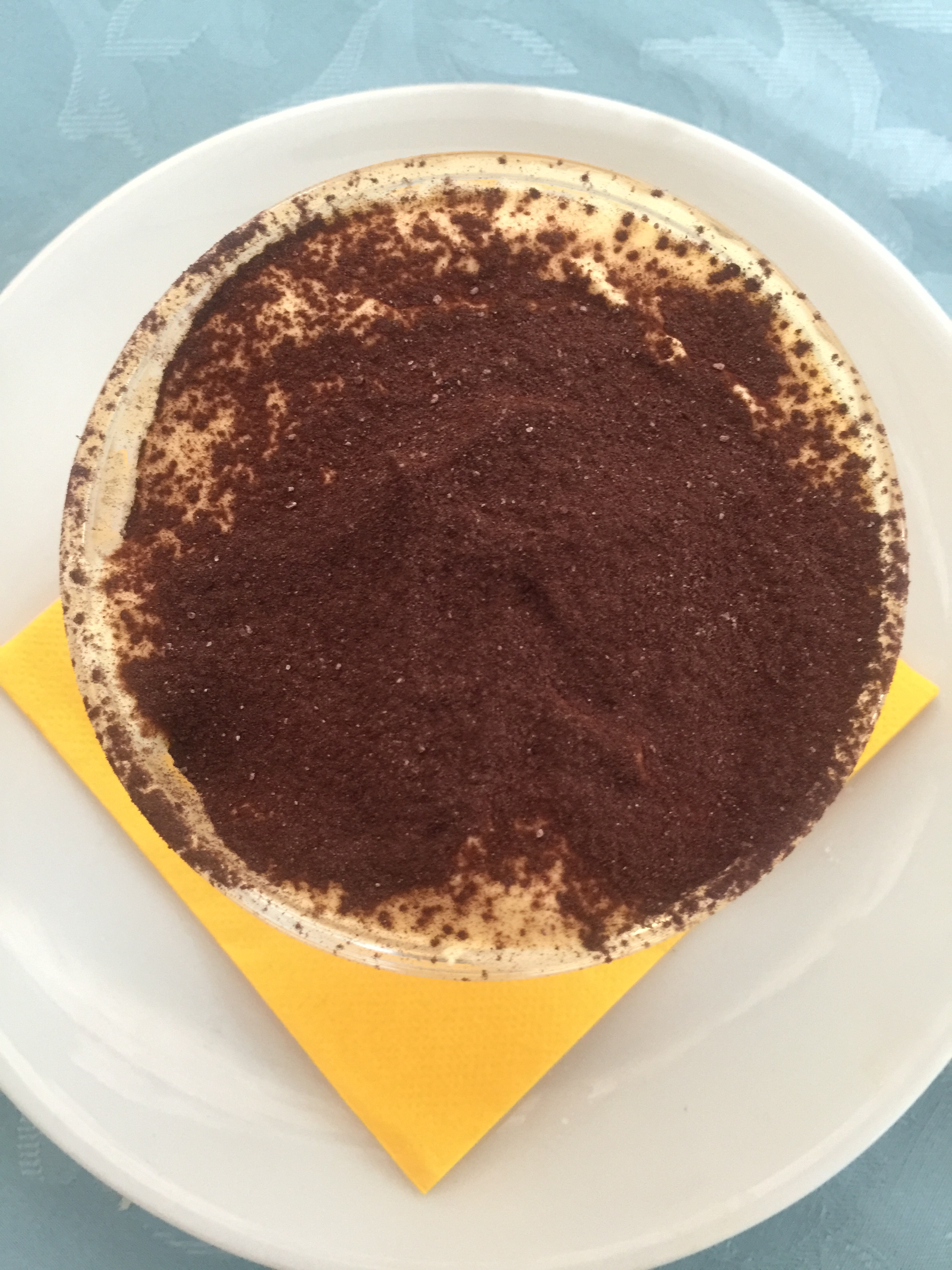 Top off a meal with tiramisu
