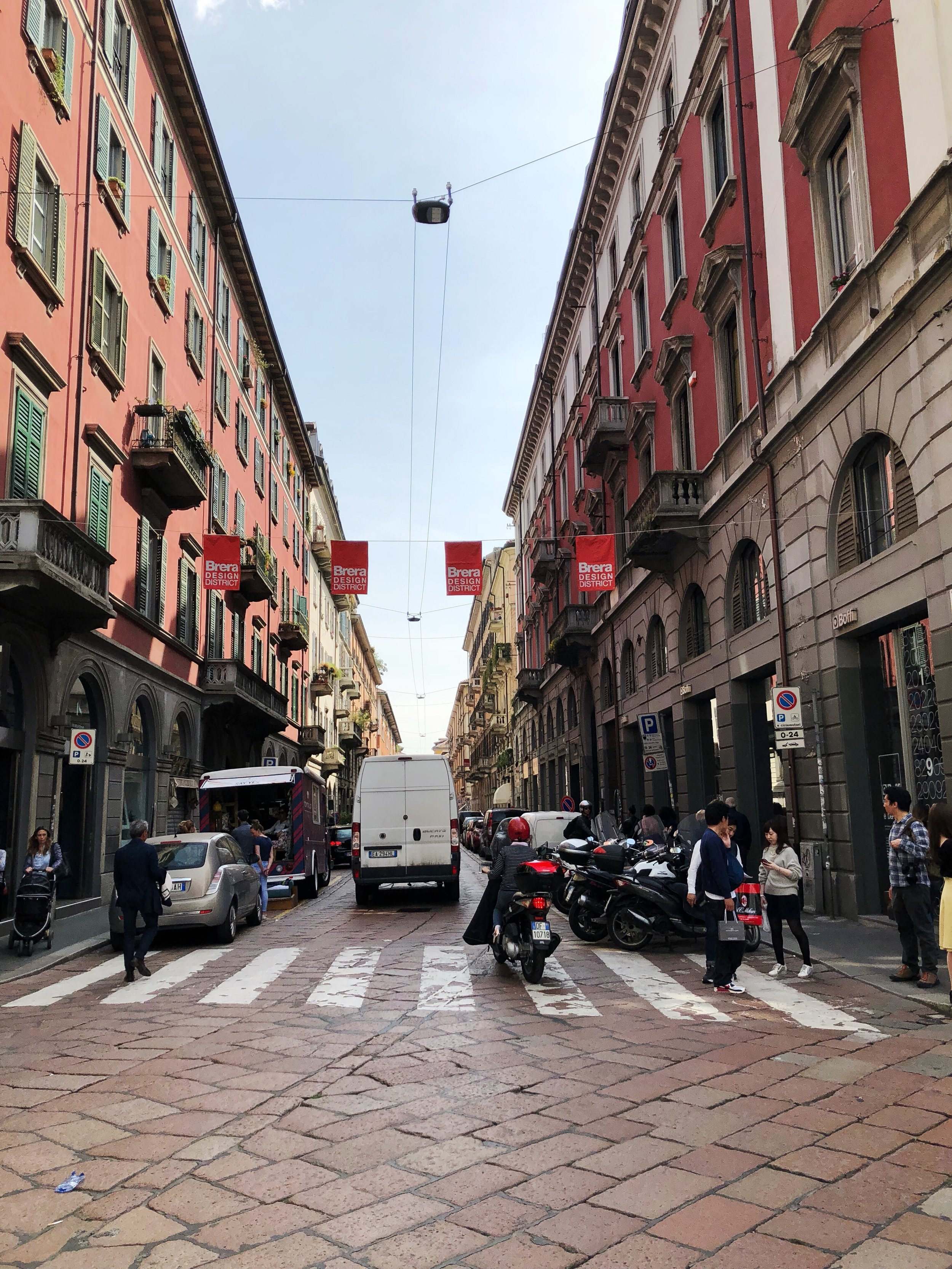 Busy Brera design district