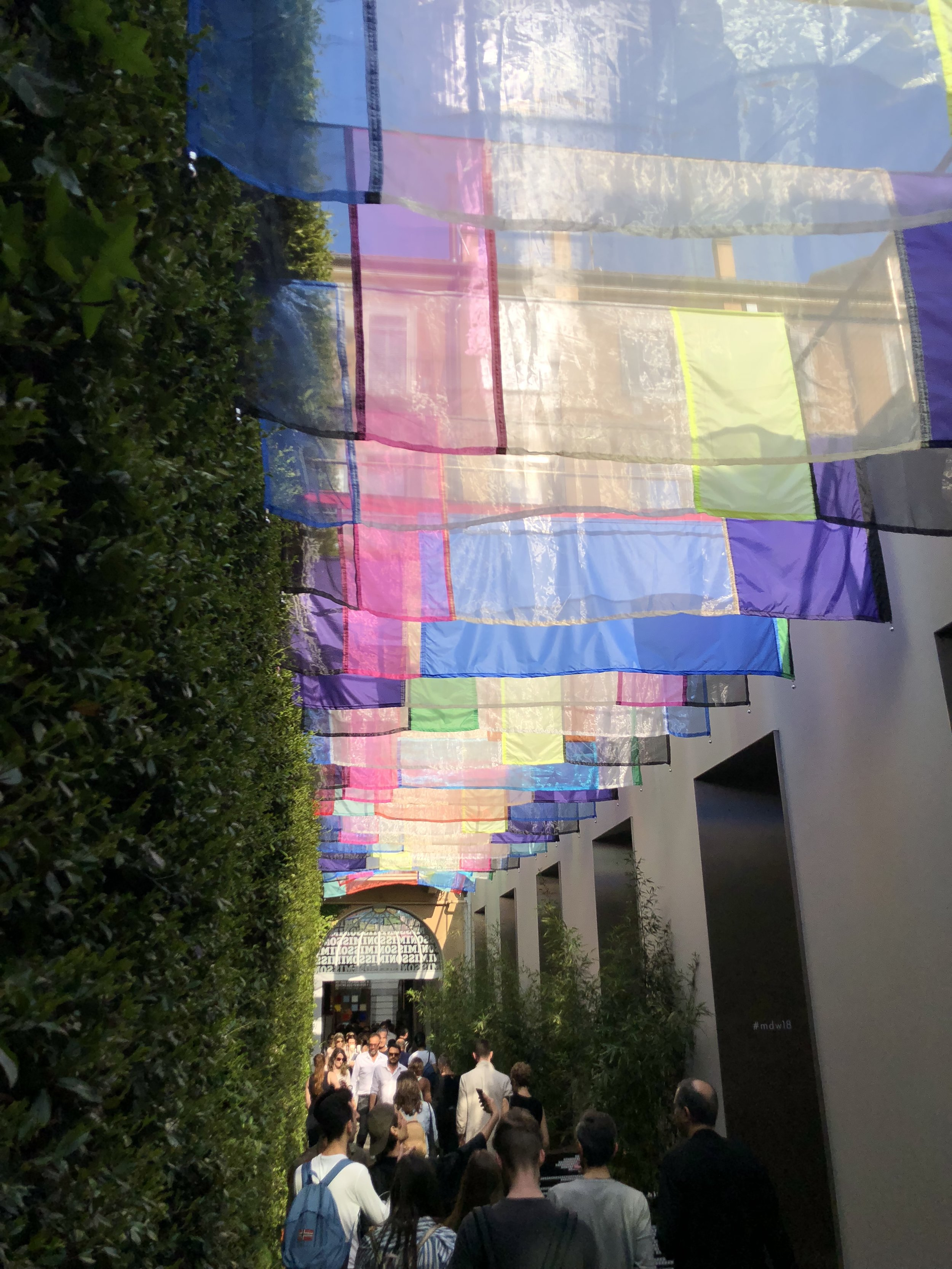 Colorful streets in Brera