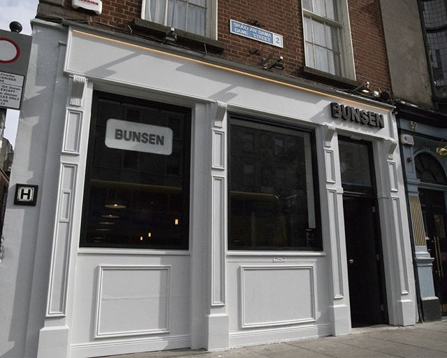 Bunsen Dame Street now open! 🍔