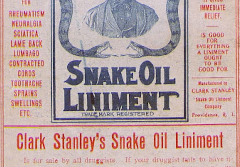 Episode 35: Snake Oil -