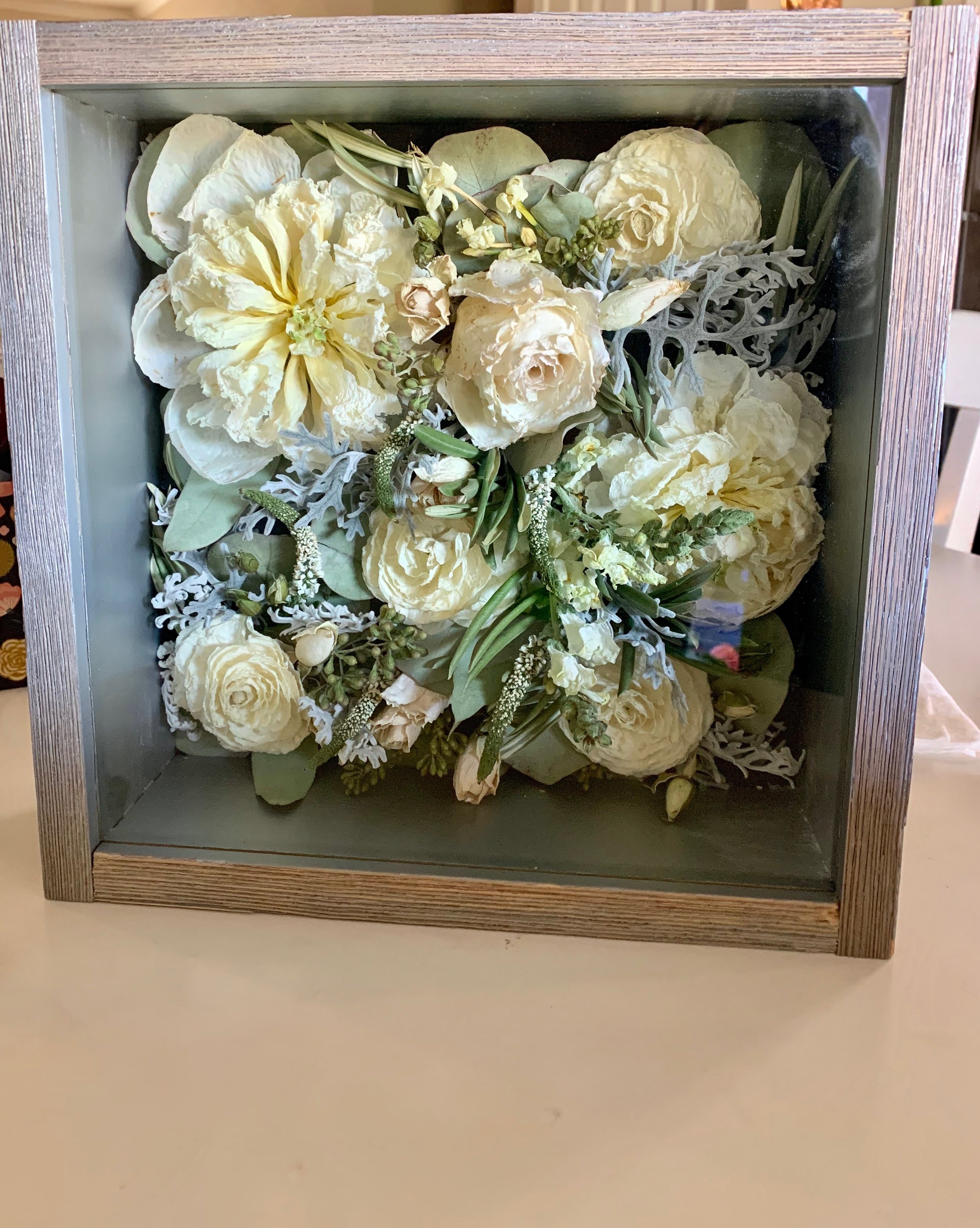 Wedding Bouquet Preservation Glasshouse Collection Preserved