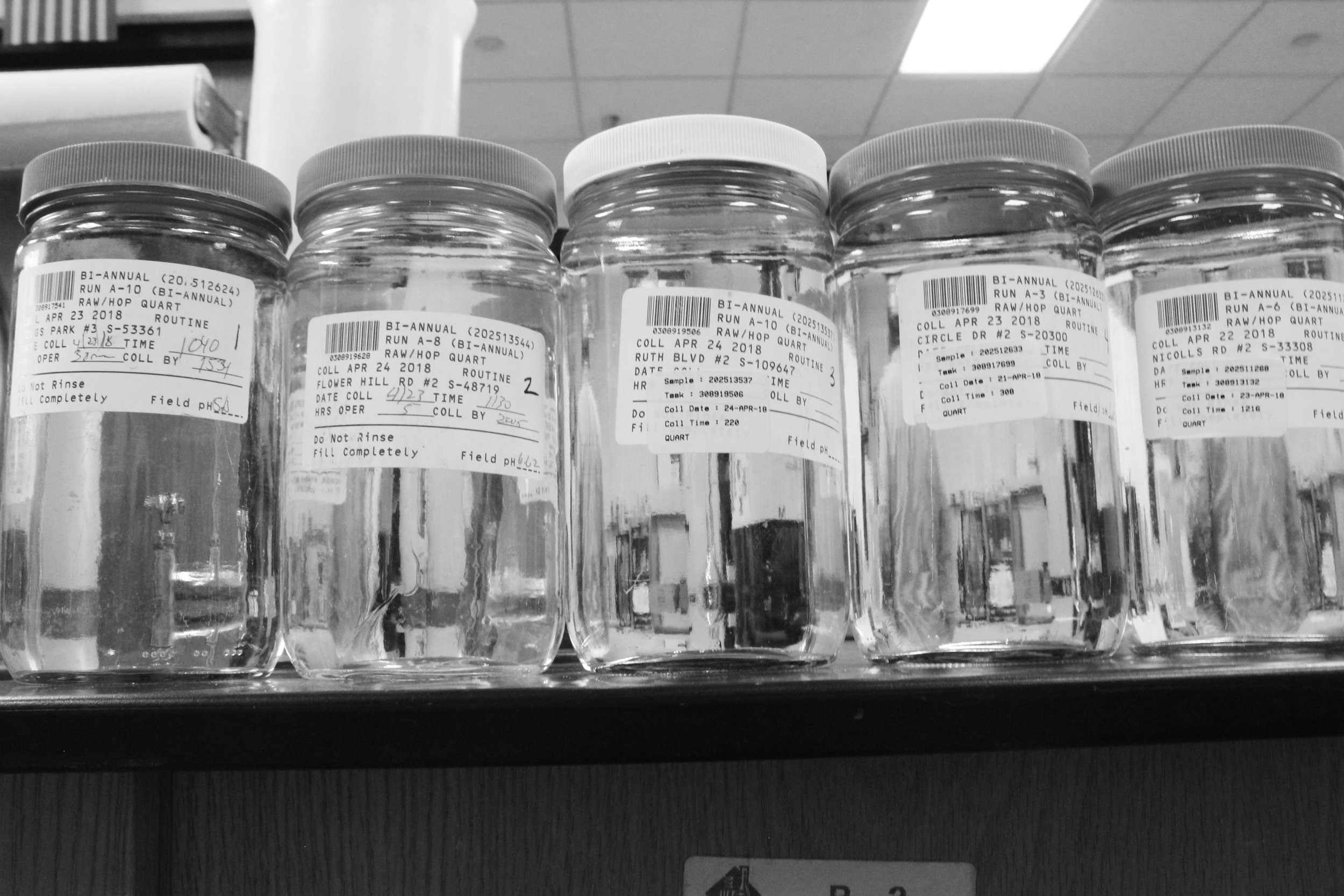 LONG ISLAND WATER SAMPLES FROM SUFFOLK COUNTY WATER AUTHORITY