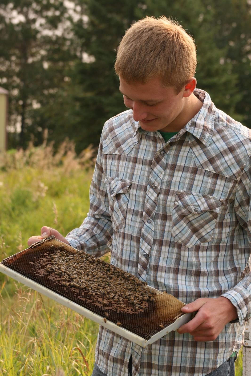 From an early age, Nathan was introduced to all things bee keeping, this wasn't simply a family business, it was a family passion